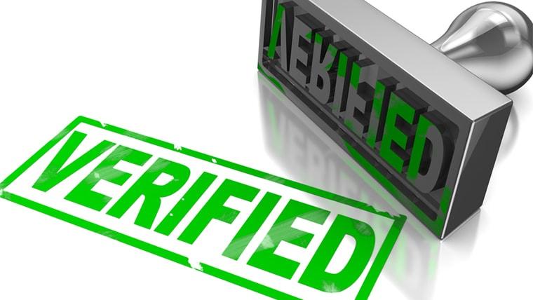 Печати верификации